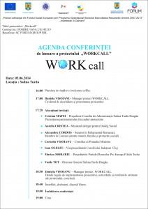 agenda workcall