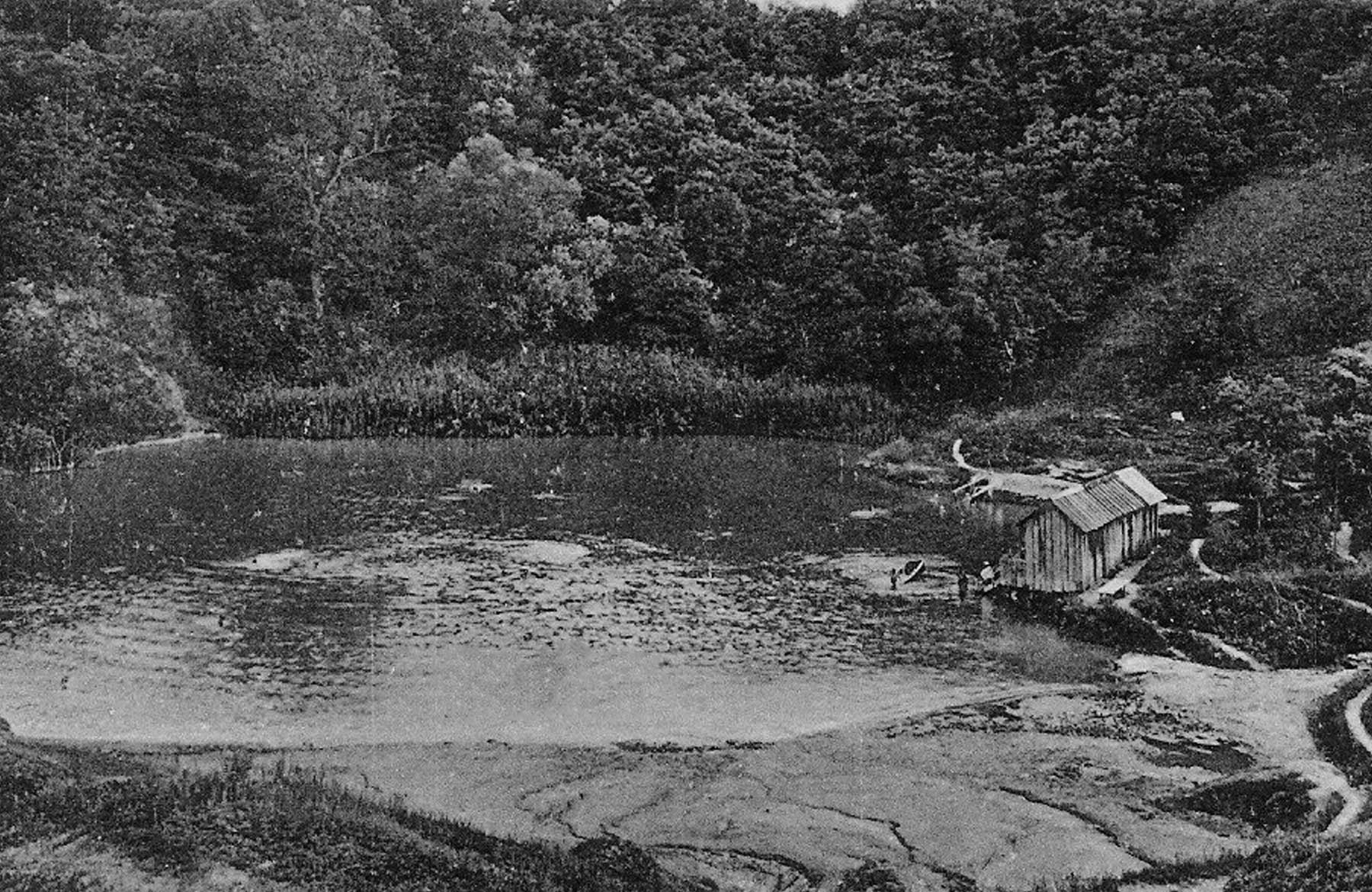 Durgău_ lacul nr.2 (lacul Durgău), în anul 1931