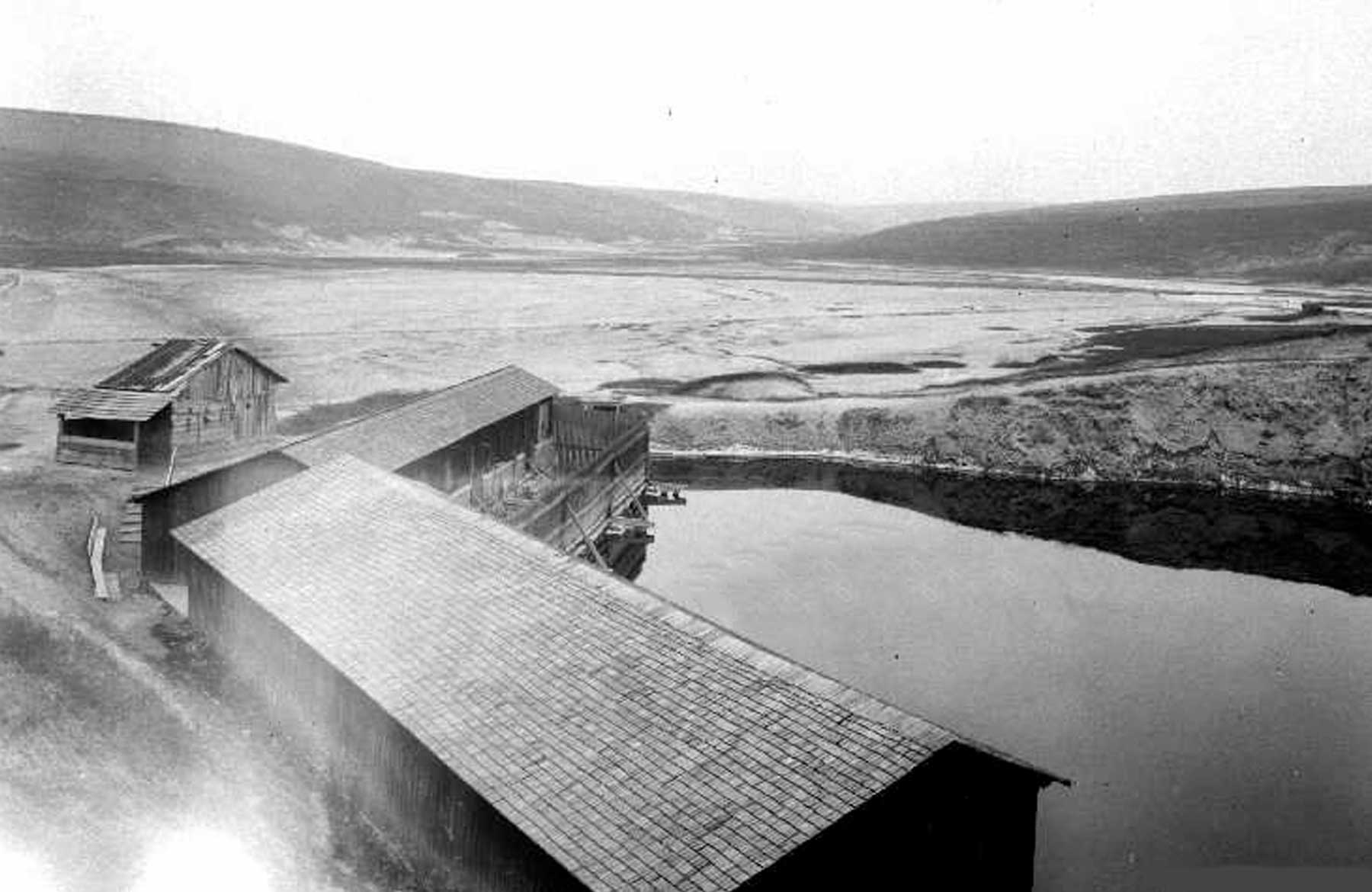 Durgău_ lacul nr.4 (lacul Ocnei), în perioada interbelică